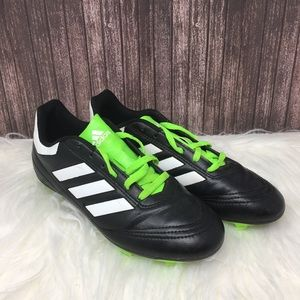 Adidas cleat soccer sneaker green